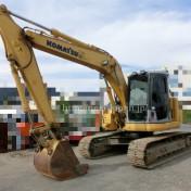 Japan used Excavator Komatsu PC138US-2 for sale