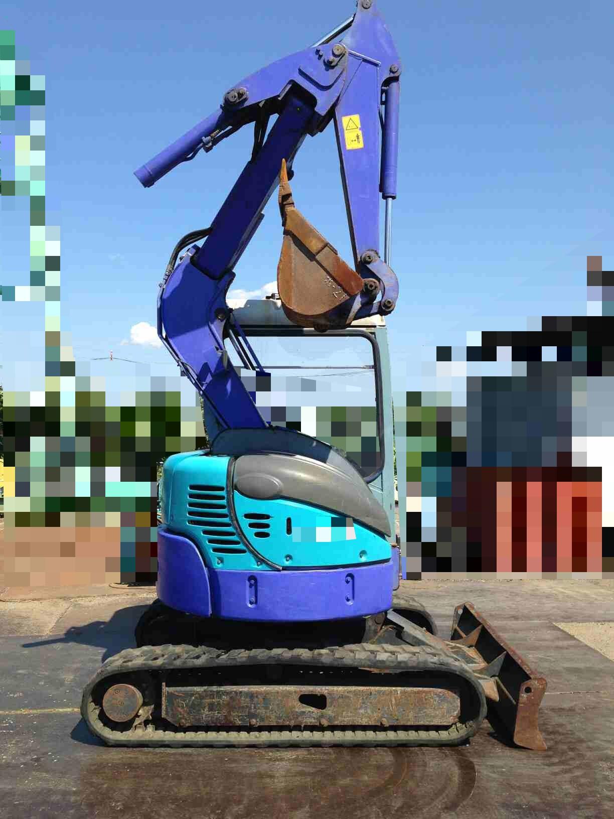 Japan used Mini Excavator AX30UR (Hokuetsu) for sale
