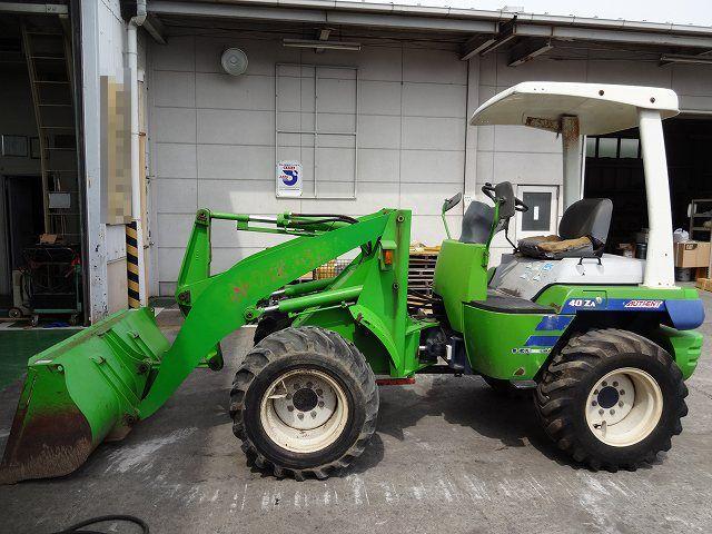 Japan used wheel loader 40ZA for sale