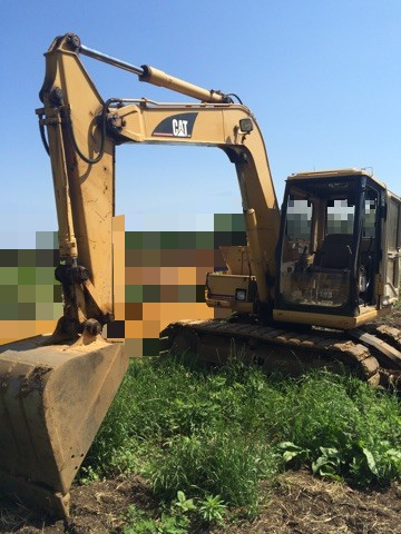 Japan used excavator CAT 307B for sale