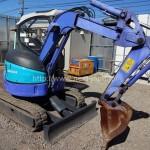 Japan used mini shovel AX20UR for sale