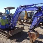 Japan used Mini Excavator AX33U (Hokuetsu) for sale
