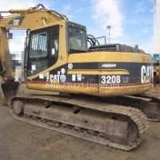 Japan used excavator 320BLU