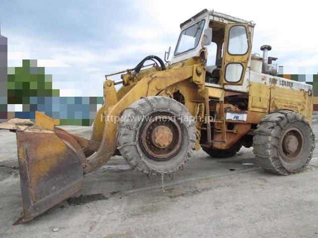 Japan used Wheel loader JH65CH-2 (Komatsu) for sale