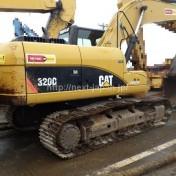 japan used excavator 320D for sale