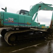 Japan used excavator SK200-6ES kobelco for sale
