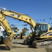 Japan used excavator 320B ② for sale