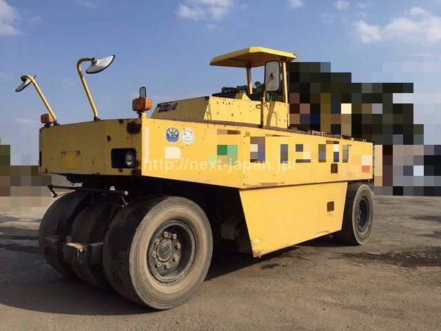Japan used road roller tires T600C for sale