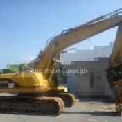 Japan used excavator 320BU for sale