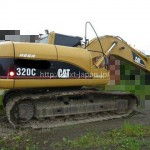 Japan used Excavator 320C