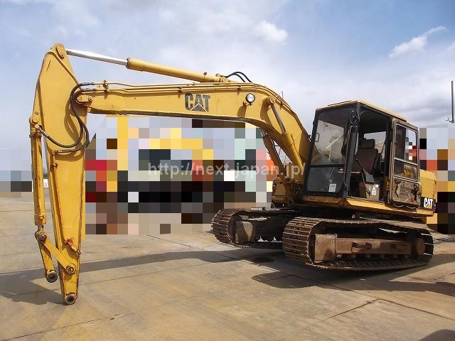 Japan used excavator E120B