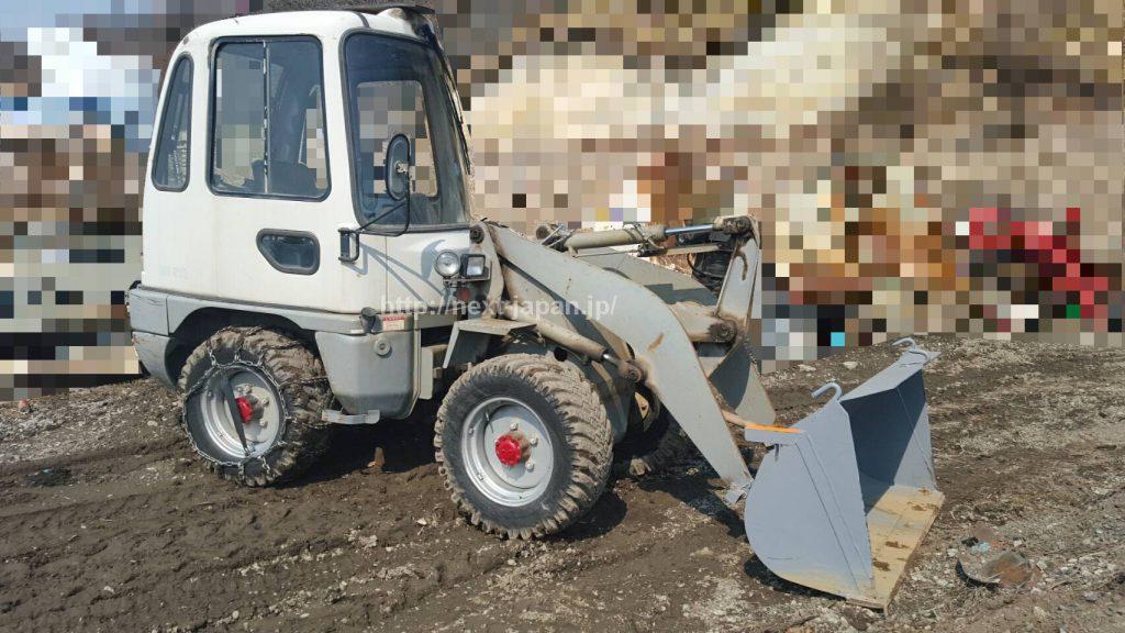 Japan used wheel loader WS210