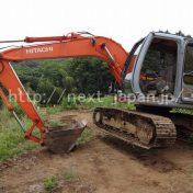 Japan used excavator EX100-5