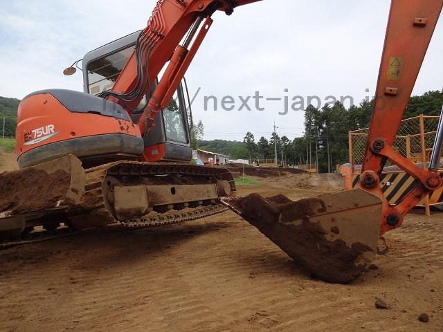 Japan used excavator EX75UR-5