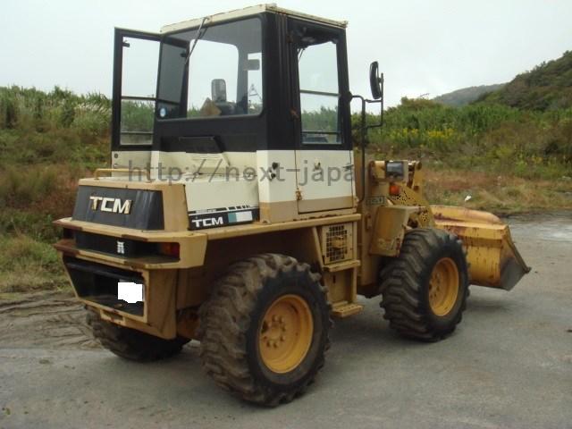 Japan used wheelloader TCM820-2
