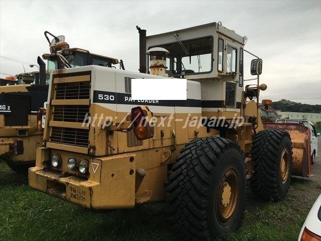 Japan used Wheel-loader 530
