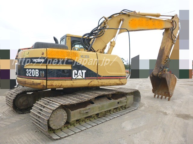 CAT320BU Next limited japan used excavator 2