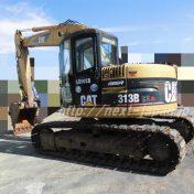 japan used excavator 313BCR CAT