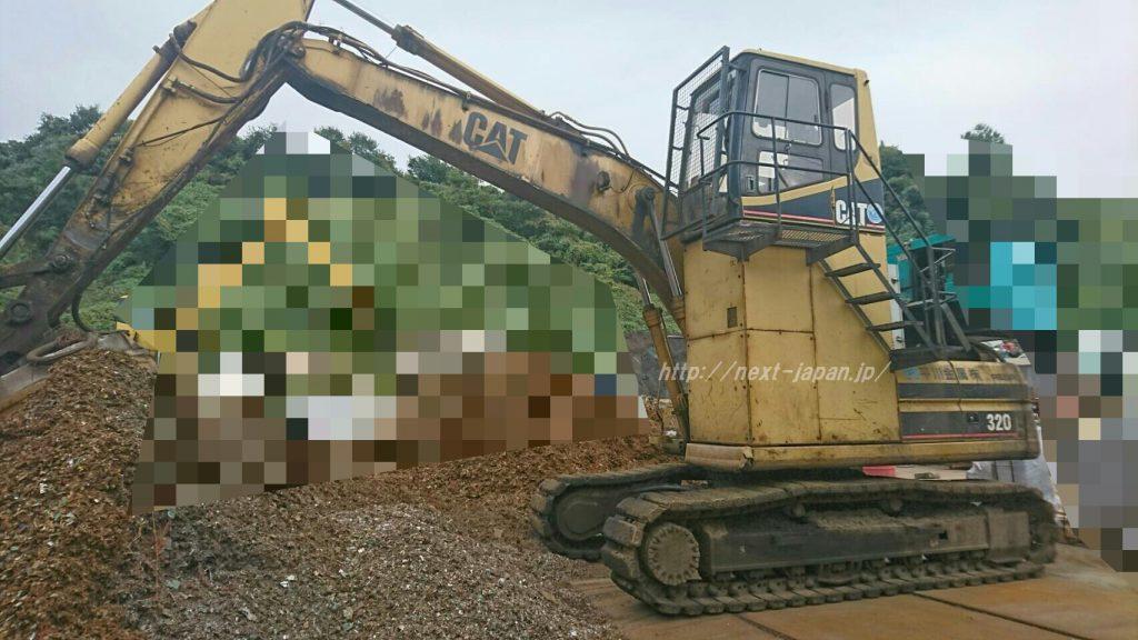 320L japan used excavator