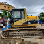 320CLU japan used excavator