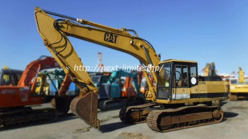 Japan used excavator E200B
