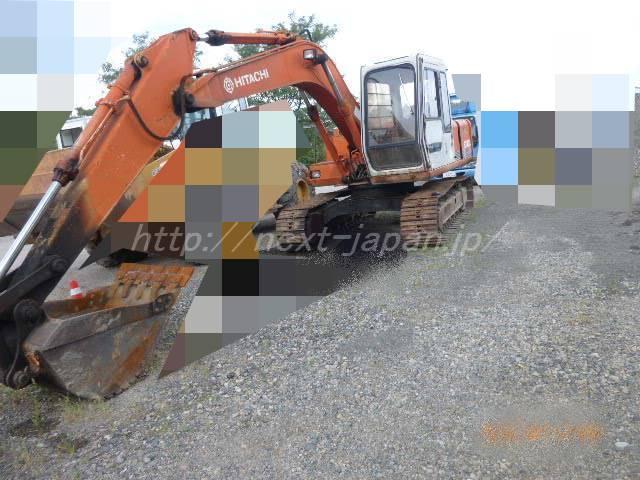 Japan used excavator EX100