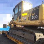 Japan used excavator PC200-8