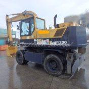 Japan used excavator PW200-1