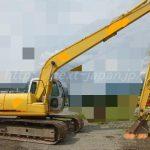 Japan used excavator SH120-3