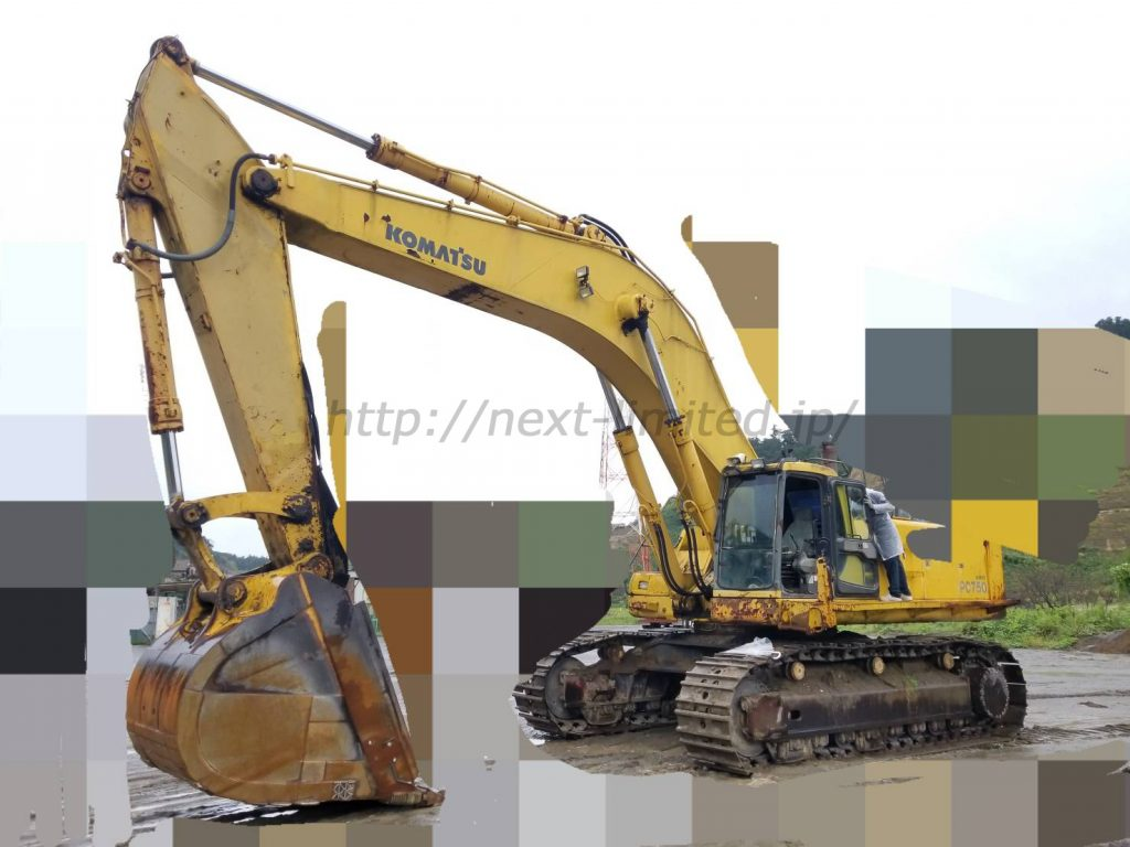 Japan used excavator PC750-6 for sale