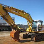 Japan used Excavator for sale SH200-3