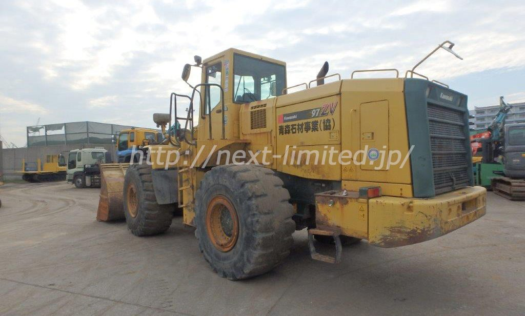 Japan used wheel loader for sale 97ZV