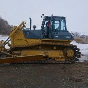 Japan used bulldozer for sale D60P-12